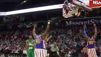 The Harlem Globetrotters took on the Washington Generals at JQH Arena on Thursday, Jan. 18, 2018.