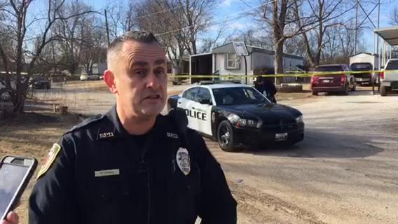 Lt. Robert Byrne with the Springfield Police Department said one man was shot to death Thursday afternoon.
