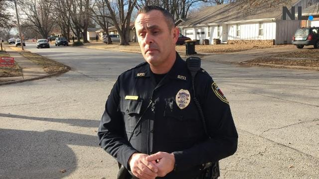Springfield police say they had a home surrounded Thursday when the suspectdrove up to the scene in the 1600 block of West Broadmoor Street and was arrested without incident.