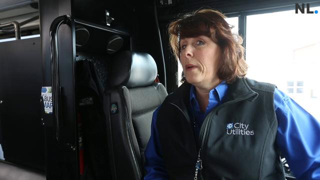 CU bus driver Renee Thompson-Fox went out of her way to help a homeless woman while driving her route on Tuesday, Feb. 6, 2018.