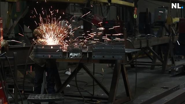 Merrill Steel in northeast Springfield is hiring for a variety of jobs as it makes the steel beams that will be used in the new Las Vegas football stadium that will be used by the Raiders.