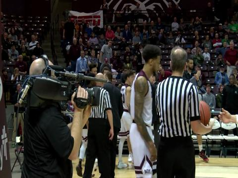 Six Missouri State players were ejected from the Bears' game vs. Drake University after the majority of the bench left the sideline and entered the court to check on a teammate.