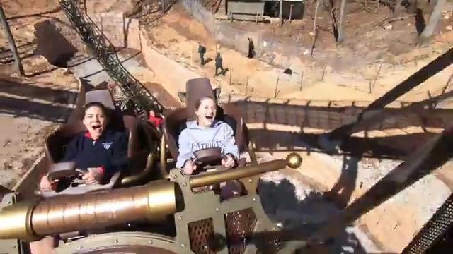 Go along for the ride on Silver Dollar City's newest roller coaster, Time Traveler.