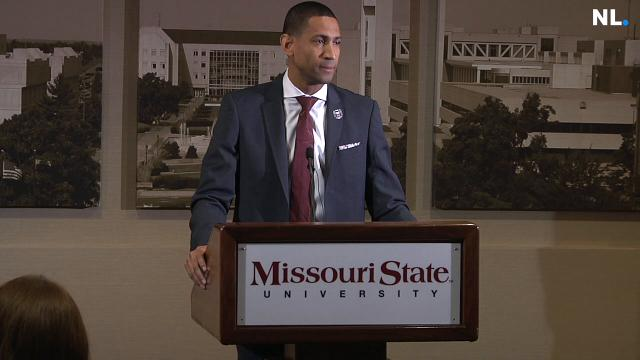 Dana Ford introduces himself as MSU's new head basketball coach