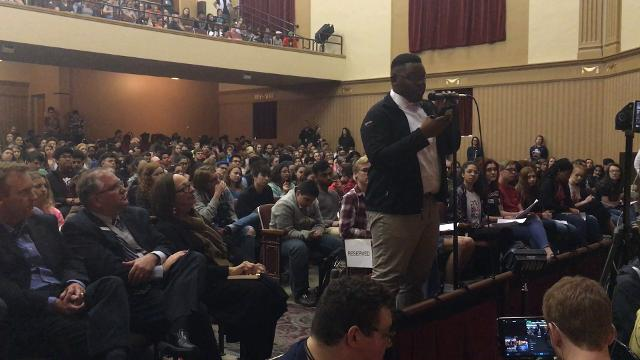 Gun violence forum at Central High School