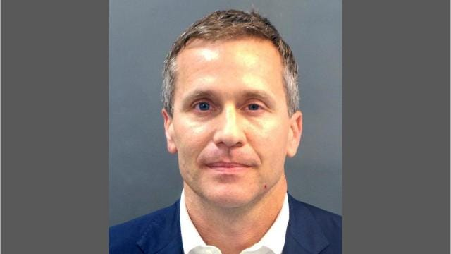 Gov. Eric Greitens' tenure in Missouri has been marked by his ongoing scandal regarding his actions in 2015, during the early stages of his campaign. He faces a felony charge in St. Louis on suspicion of taking a photograph of woman with whom he had an affair without her permission while she was partially naked, blindfolded and restrained in the basement of Greitens' home.