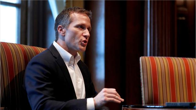 Missouri Gov. Eric Greitens announced his resignation Tuesday afternoon, leaving behind a brief and tumultuous legacy and moving on from his first public office with the continued prospect of criminal prosecution related to his 2016 campaign.