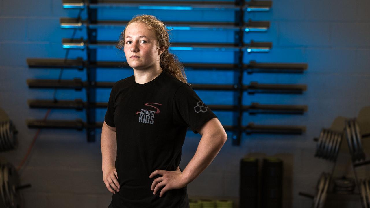The teen from Stratford, Wis. gets up before daybreak and doesn't stop until after nightfall. She works out and trains around the clock to attain her dream of wrestling in the Olympics.