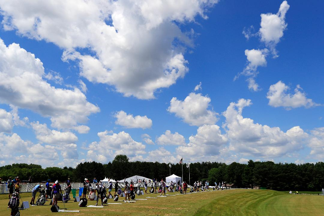 A quick look at Round 2 of the Thornberry Creek LPGA Classic in Hobart, Wis. (July 7, 2017)