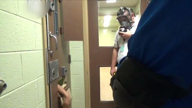 Video: Lincoln Hills pepper spray teen inmate