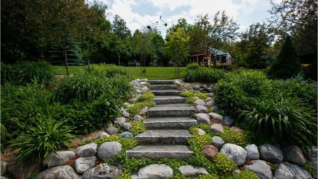 Every other year, the Master Gardeners volunteer program hosts a garden walk in Manitowoc. Visitors can tour seven or eight gorgeous area gardens.