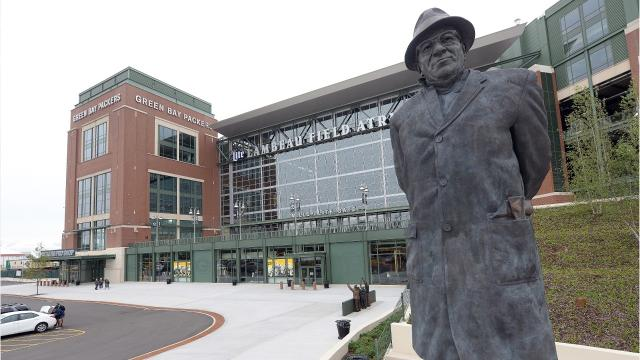 Specially created Packers artwork changes look of Lambeau Field – Green Bay Press Gazette Birth Announcements
