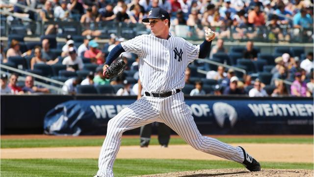 Brewers trade for Yankees reliever Tyler Webb