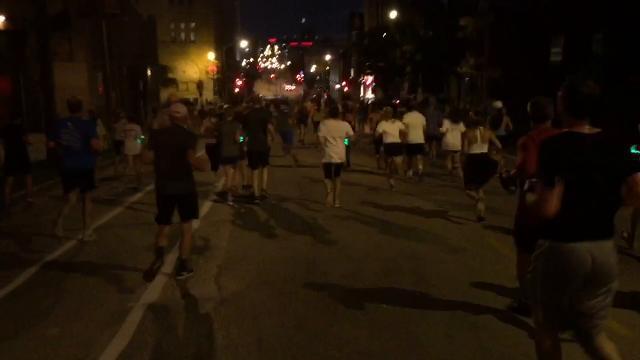 Video: Storm the Bastille 5K run