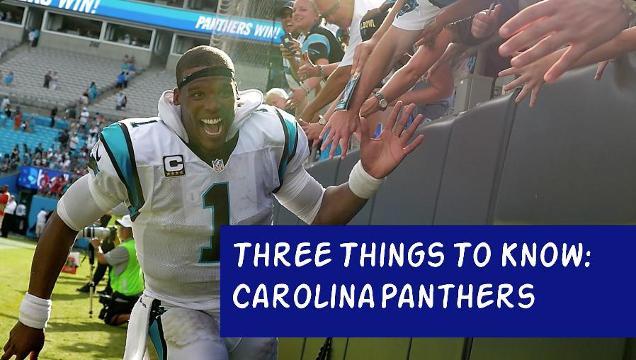 Three Things To Know: Carolina Panthers