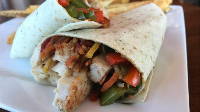 Wraps to try during lunch this summer.