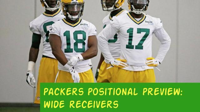 Packers 2017 season: Wide receivers preview