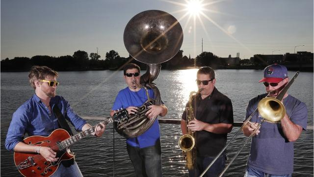 Regulars at Fridays on the Fox and Arstreet, Brass Differential puts its own spin on New Orleans' signature sound.