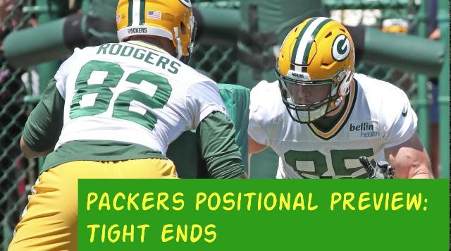 Packers 2017 season: Tight ends preview