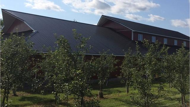 Rock Ridge Orchard has big expansion plans set to be complete by September. The orchard has outgrown its space and is building a barn for events and the other half will be a bakery and retail store.