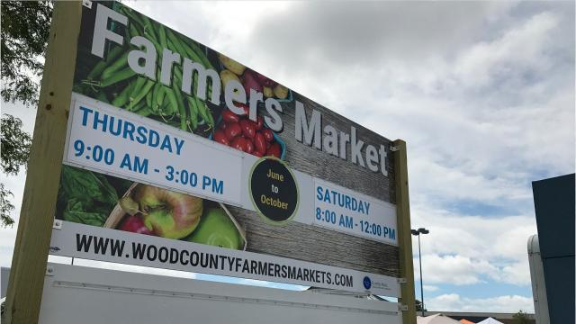 Sarah Salewski from the Wood County Health Department talks about the benefits of farmers markets. People can meet the farmer who grew their food, build relationships, improve their health and more.