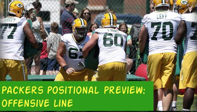 Packers 2017 season: Offensive line preview