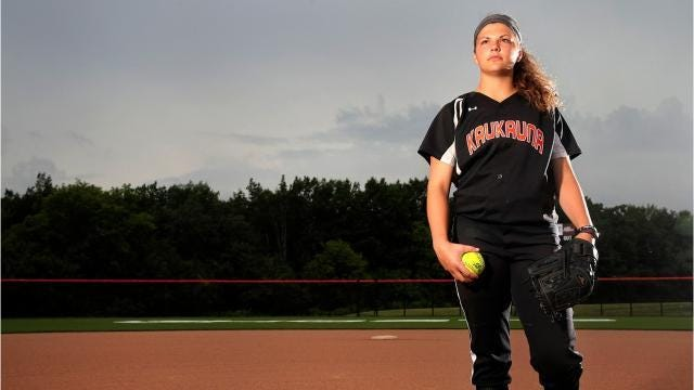 Kaukauna's Hestekin named softball athlete of the year