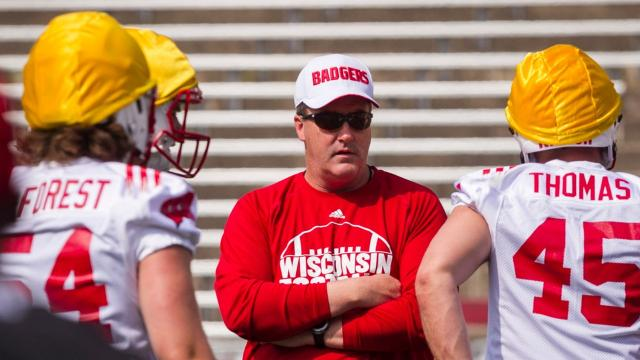 Wisconsin native Paul Chryst leads the Badgers