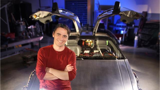 "Waukesha native filmed restoration of ""Back to the Future"" DeLorean."