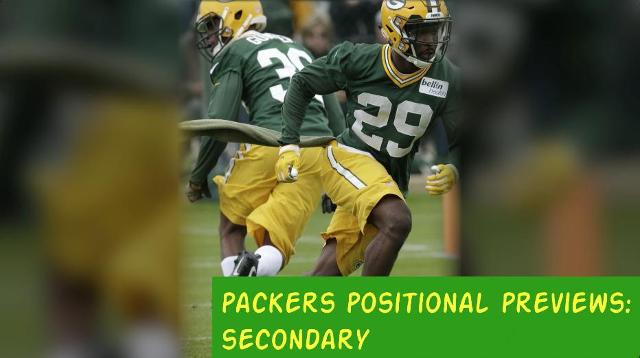 Packers 2017 season: Defensive backs preview
