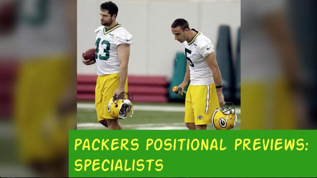 Packers 2017 season: Specialists preview