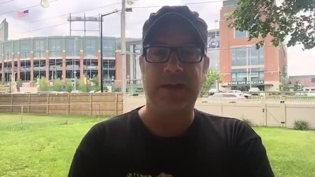 Replay of Aaron Nagler Facebook Live chat at Green Bay Packers training camp on July 26, 2017.