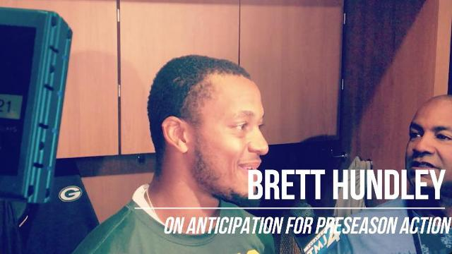 Brett Hundley 'counting down the days' until games