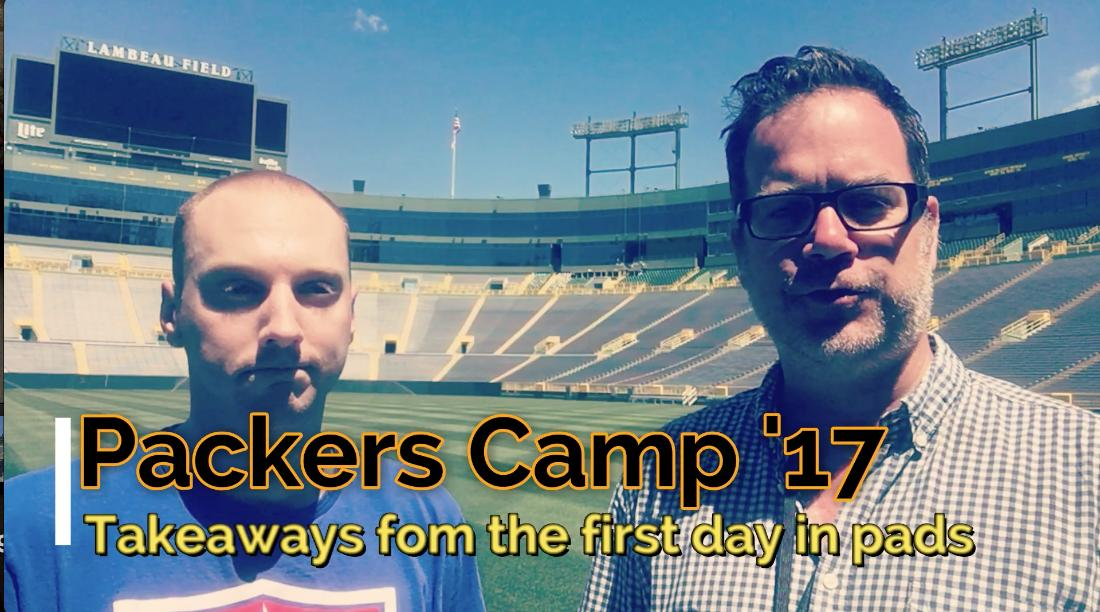 Aaron Nagler and Michael Cohen discuss the first day with pads and who stood out on Day 3 of Packers training camp.