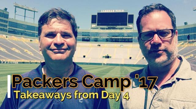 Takeaways from Day 4 of Packers training camp