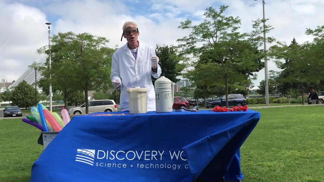 Discovery World offers Science Saturdays in August.