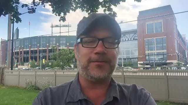 Replay of Aaron Nagler Facebook Live chat at Green Bay Packers training camp on Aug. 1, 2017.
