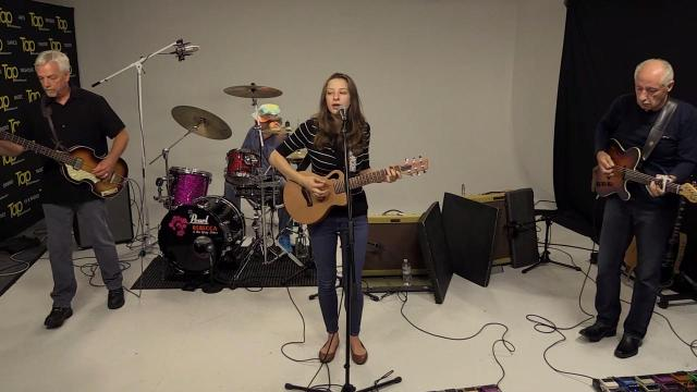 Sound Check: Rebecca and the Grey Notes perform