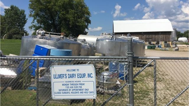 Ullmer's Dairy Equipment does business with a lot of dairy farmers and cheesemakers. But it has found a new business segment, too: Repurposing dairy equipment for craft brewers, wineries, distillers, coffee brewers and other businesses that need food-safe equipment.