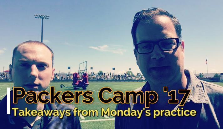 Michael Cohen and Aaron Nagler gave their initial takeaways from Monday's training camp practice. (Aug. 7, 2017)