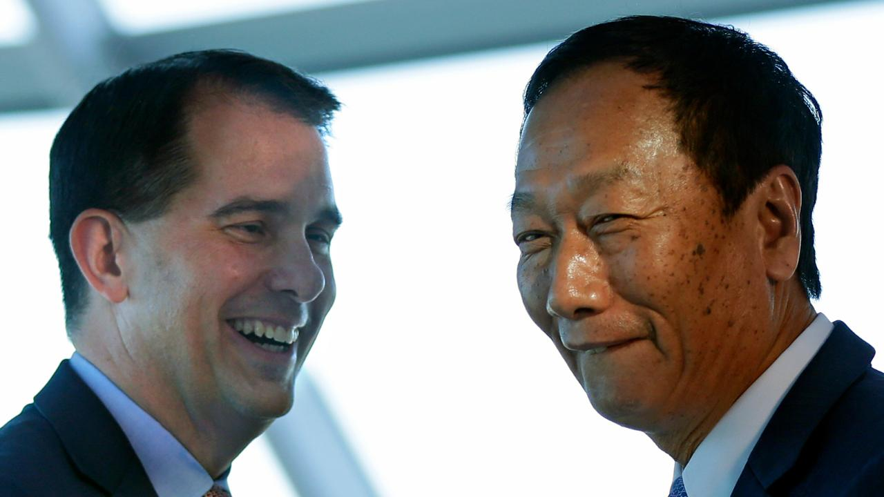 Foxconn chairman Terry Gou at the Milwaukee Art Museum