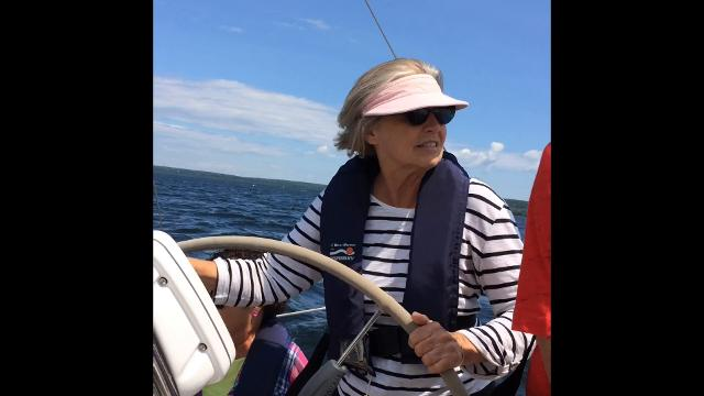 Join Ken and Coleen Ulrich, Bob and Beth Faucett, Lynn and Sandi Rowe and Jake Ulrich for the Lady at the Helm sailing race in Egg Harbor on Aug. 5, 2017. Story/photos in Wednesday's Door County Advocate