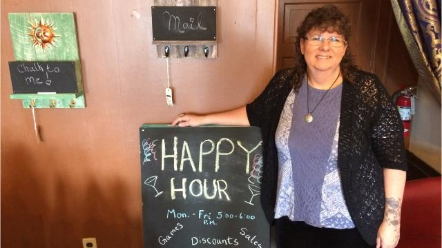 A business in Marshfield has opened and owner Pam Garbisch says she doesn't want her business - Gypsie Gems - to be like anyone else's.