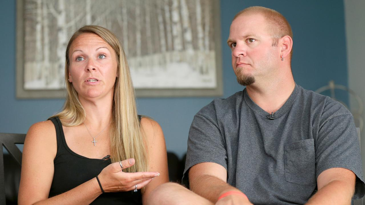 Heidi Sorrem and her husband, Corey, talk about their trip from their Greenfield, Wis., home to a Mexico resort in Sept. 2016 to celebrate their 10th wedding anniversary. After a couple of shots they both blacked out and Heidi ended up in a hospital.