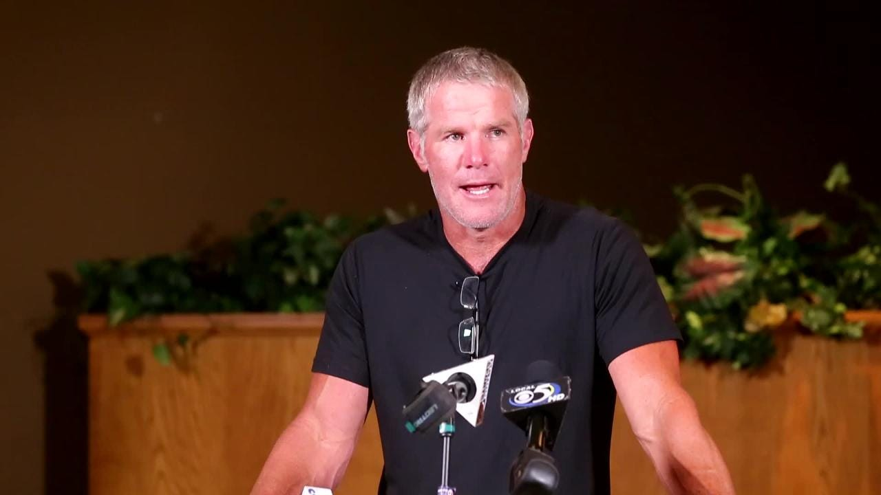 Former Green Bay Packers quarterback Brett Favre was a 2017 Lee Remmel Sports Awards recipient and was in the Green Bay area in August to honor his late friend.