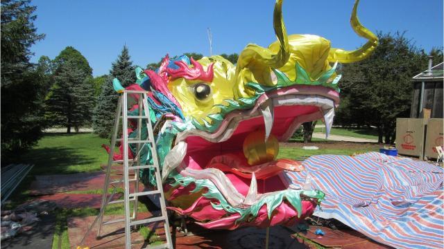 China Lights Lantern Festival Returns To Boerner Botanical Gardens