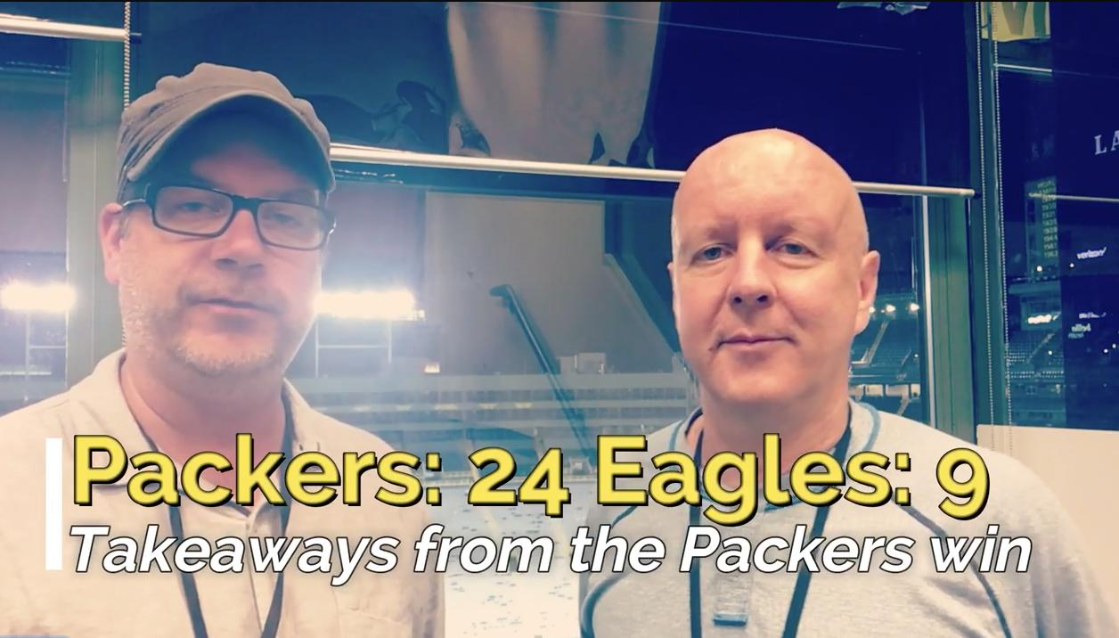 Pete Dougherty and Aaron Nagler give their first thoughts after watching the Packers beat the Eagles 24-9 in their preseason opener. (Aug. 10, 2017)