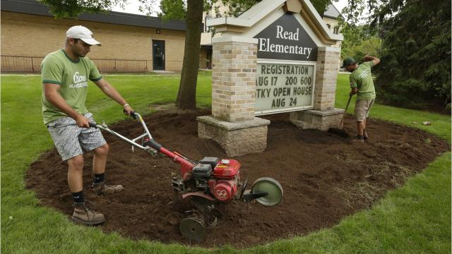 Project CURB is 8 a.m. to noon Saturday, Sept. 23 at Oshkosh Area School District schools.