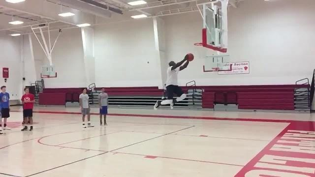 Video: Donald Driver can still dunk!
