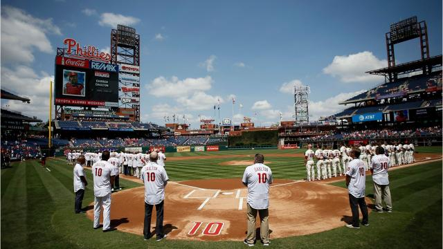 Gary Varsho a Chili resident and former Major League Baseball player reflects on former teammate Darren Daulton who died of brain cancer on August 6. Varsho named his son Daulton, a current minor leaguer, after Darren Daulton